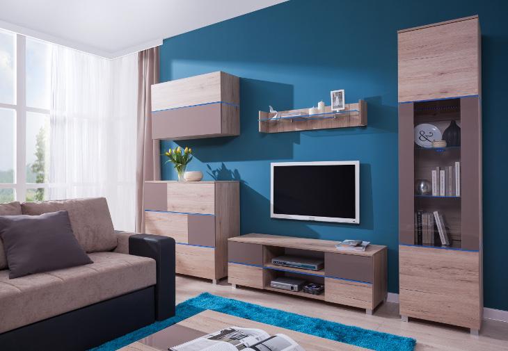 Elegantná obývacia stena ADEN zostava 5