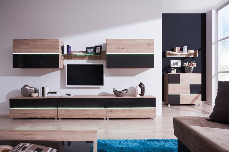 Štýlový nábytok do obývacej izby ADEN zostava 7