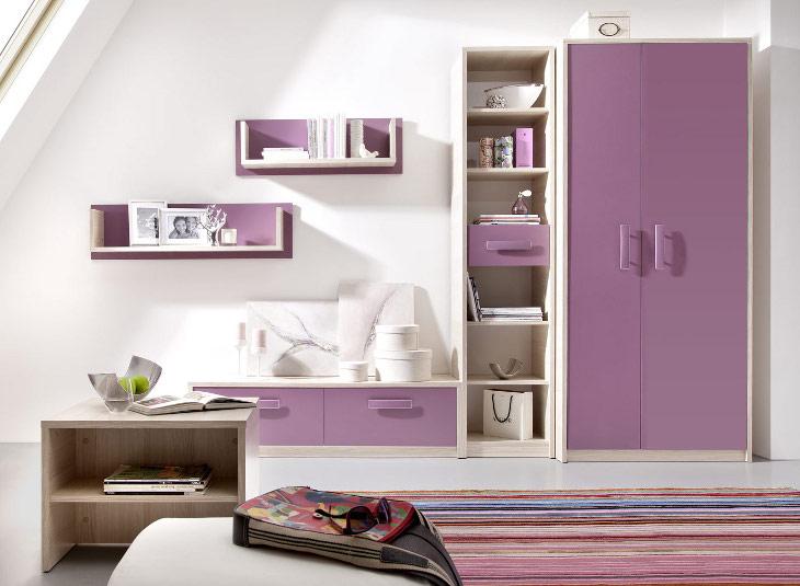 Trendy nábytok do detskej izby BREGI Zostava 15