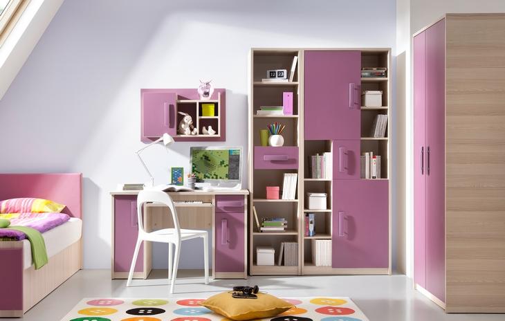 Detská izba pre dievčatá BREGI Zostava 18