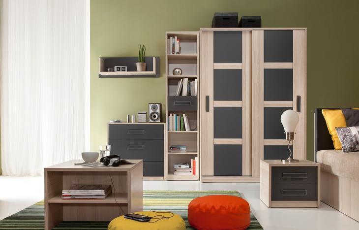 Moderný nábytok do detskej izby BREGI Zostava 2