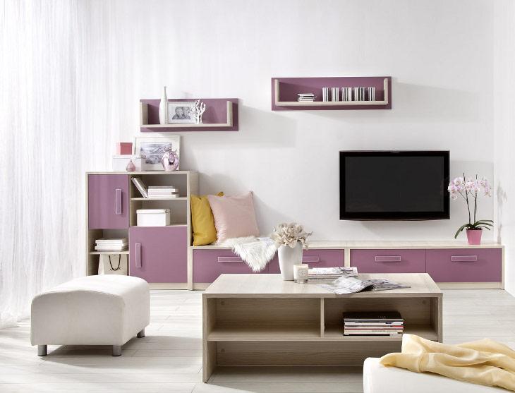 Detská izba pre dievčatá BREGI Zostava 4