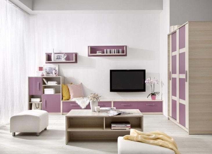 Trendy nábytok do detskej izby BREGI Zostava  5