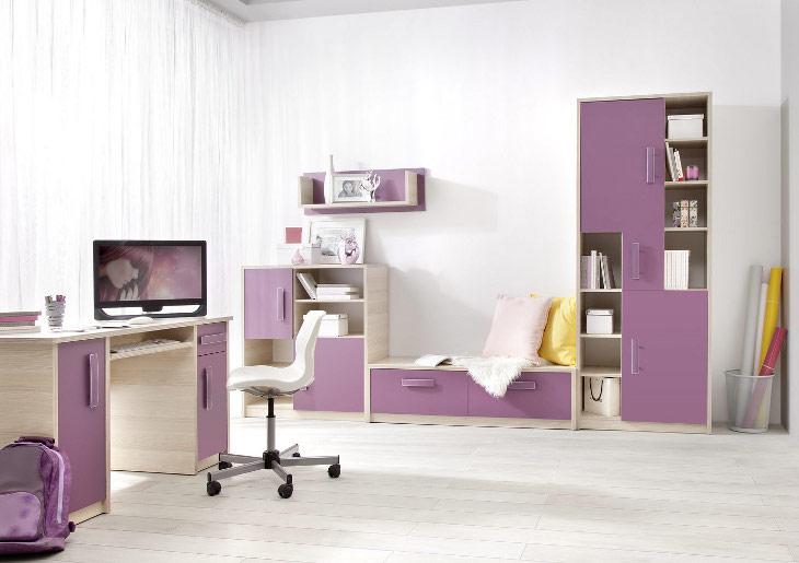 Lacný nábytok do detskej izby BREGI Zostava 7