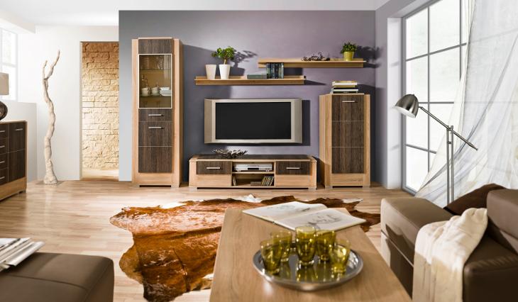 Lacný nábytok do obývacej izby CARMELO Zostava 2