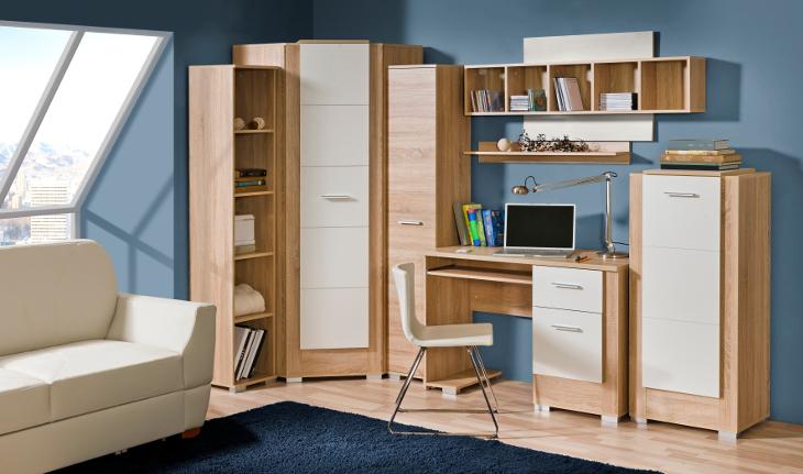 Moderná zostava nábytku do detskej izby CARMELO 5