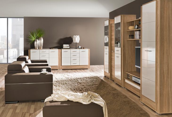 Luxusný nábytok do obývacej izby CARMELO Zostava 9