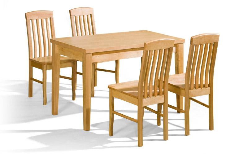 Stôl Duo + stoličky K-8 (1+4) - Súprava M31