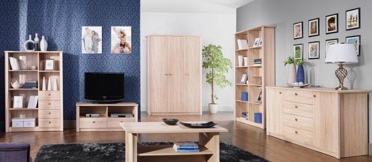 Luxusná obývacia izba FINEZJA zostava 2