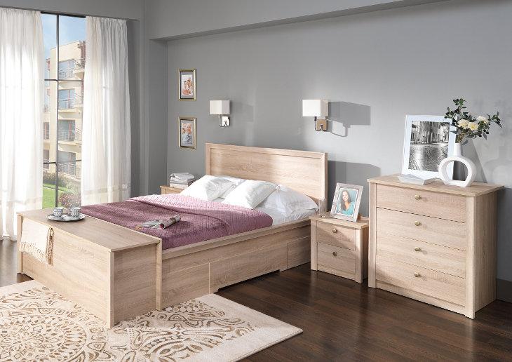 Moderná spálňa FINEZJA Zostava 4
