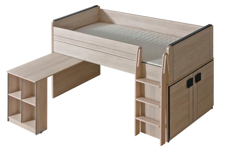 GM15 Poschodová posteľ s písacím stolom GUMI