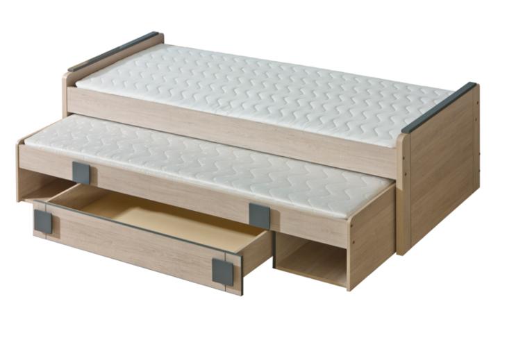 GM16 Poschodová posteľ nízka s úložným priestorom GUMI