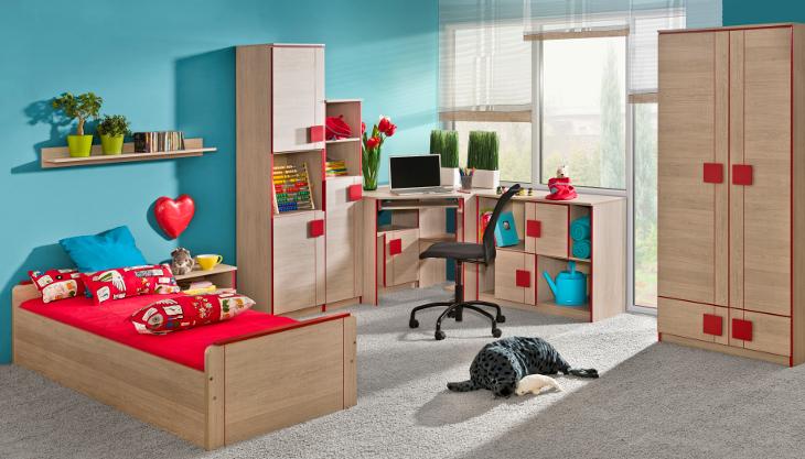 Moderná študentská izba GUMI zostava 11