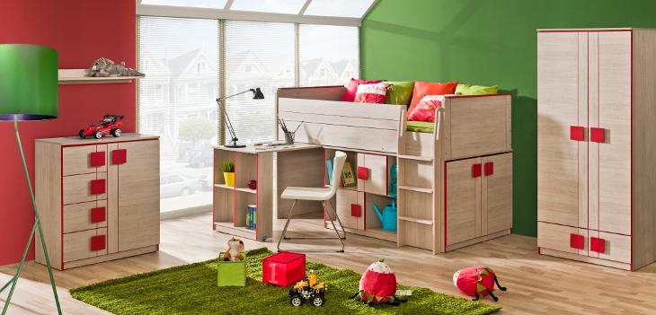 Moderná detská / študentská izba GUMI Zostava 3