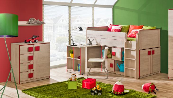 Štýlová detská / študentská izba GUMI Zostava 4