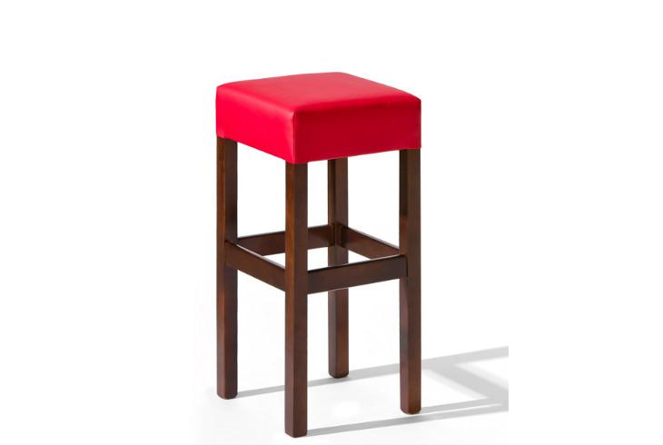 Barová stolička H-3 Sedadlo čalúnené - viac farieb