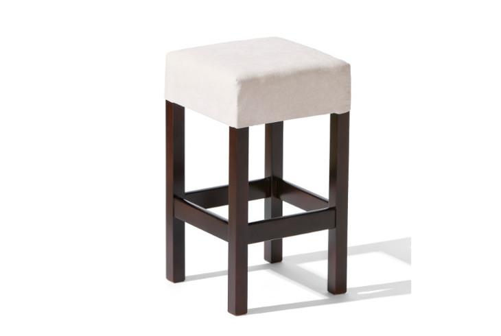 Barová stolička H-4 Sedadlo čalúnené - viac farieb