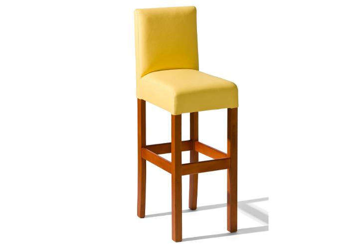 Barová stolička H-7 Sedadlo čalúnené - viac farieb