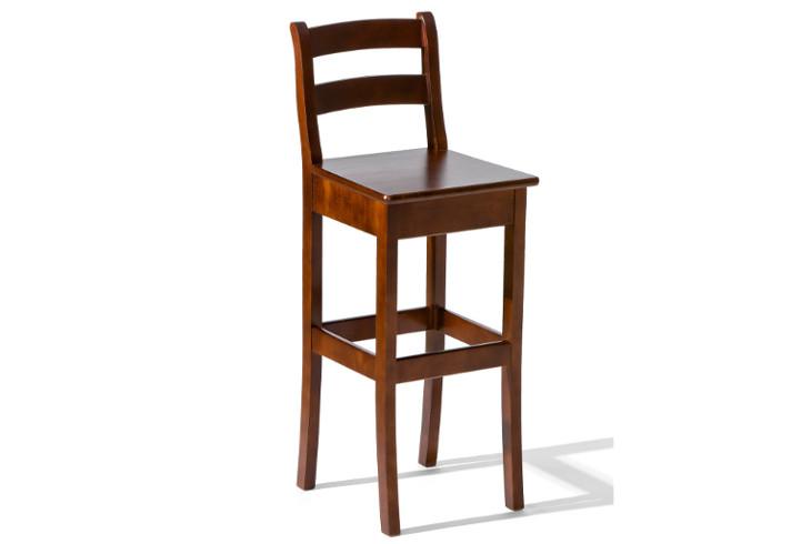 Barová stolička H-8 drevené sedadlo - viac farieb