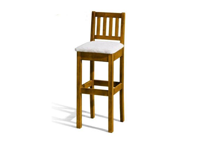 Barová stolička H-1 Sedadlo čalúnené - viac farieb