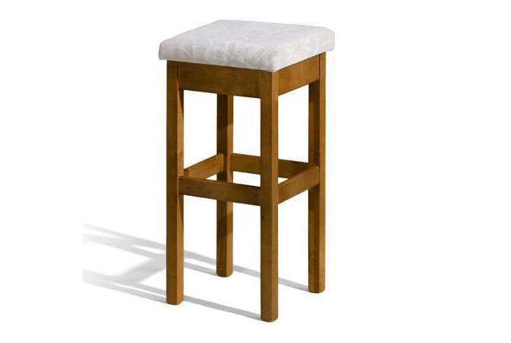 Barová stolička H-2 Sedadlo čalúnené - viac farieb