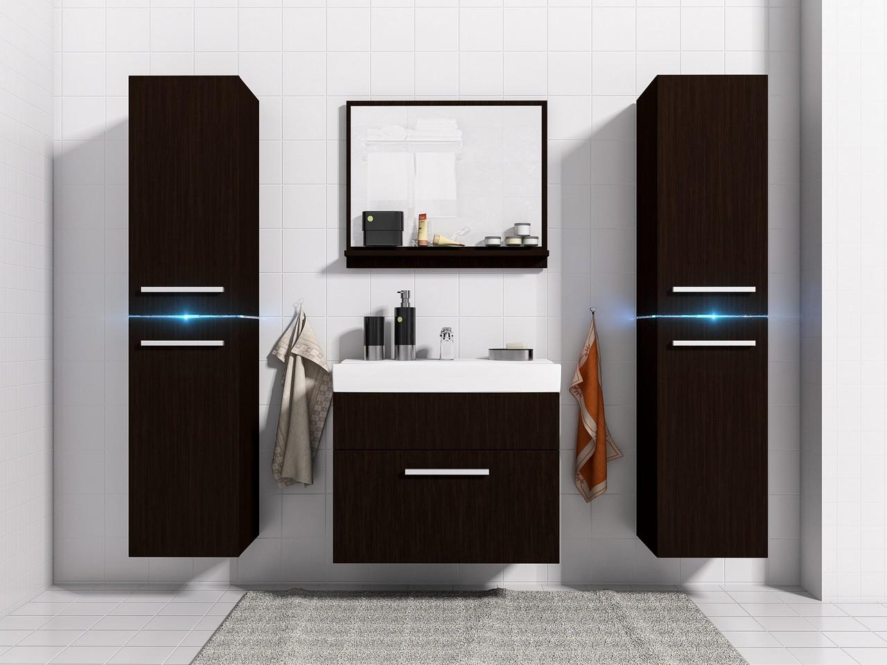 Kúpeľňový nábytok JUMP 1 s LED osvetlením