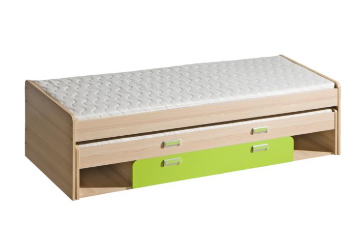 LR16 Poschodová posteľ nízka s úložným priestorom LORENTO