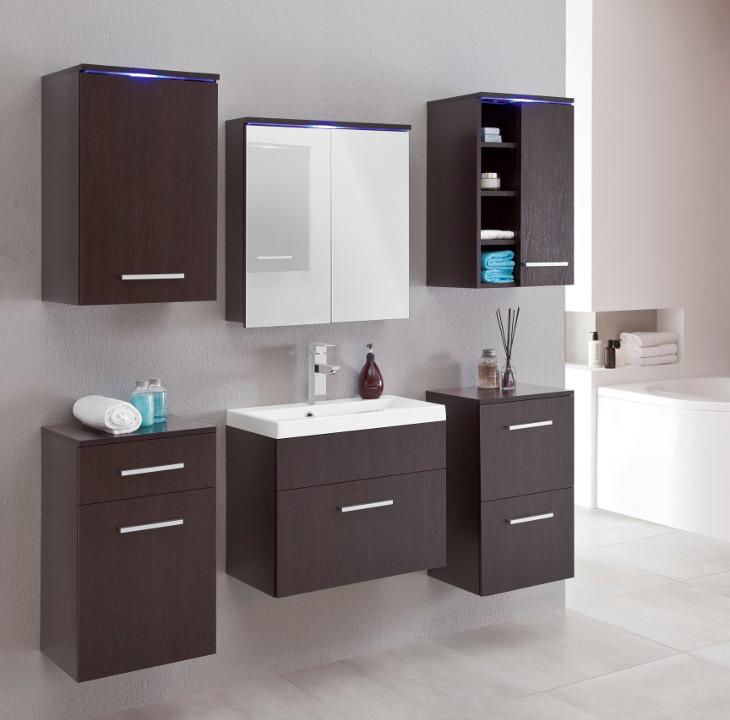 Moderná kúpeľňa ELENIA 1 wenge
