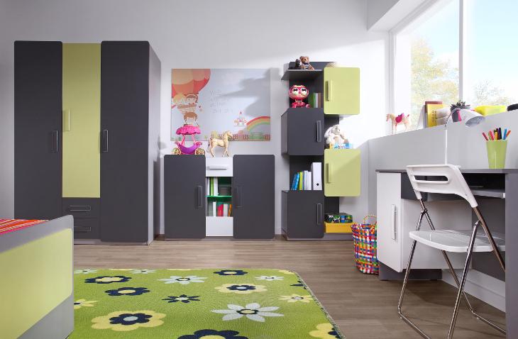 Sektorový nábytok do študentskej izby LIDO 10