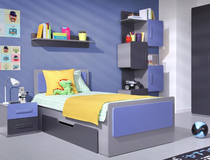 Moderná a lacná detská izba LIDO zostava 15