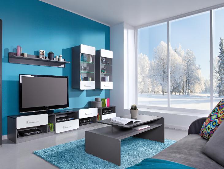 Moderný nábytok do obývacej izby LIDO Zostava 5
