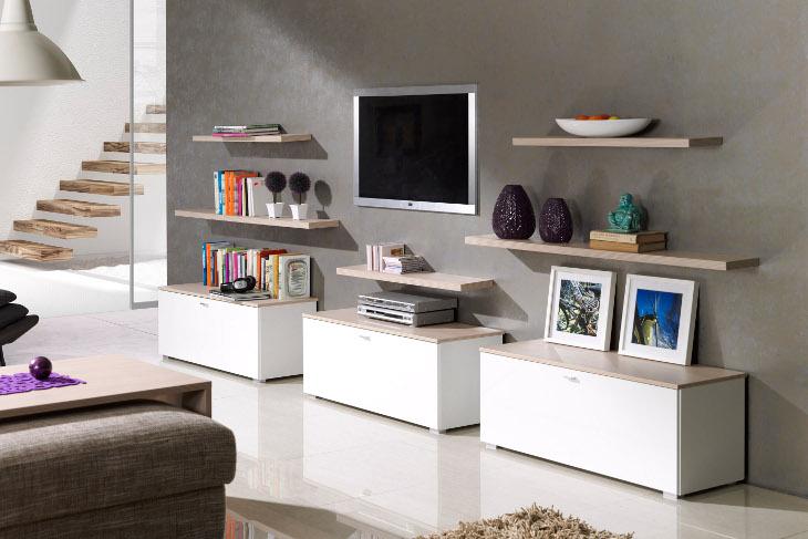 Malá obývacia stena LIVING Zostava 1