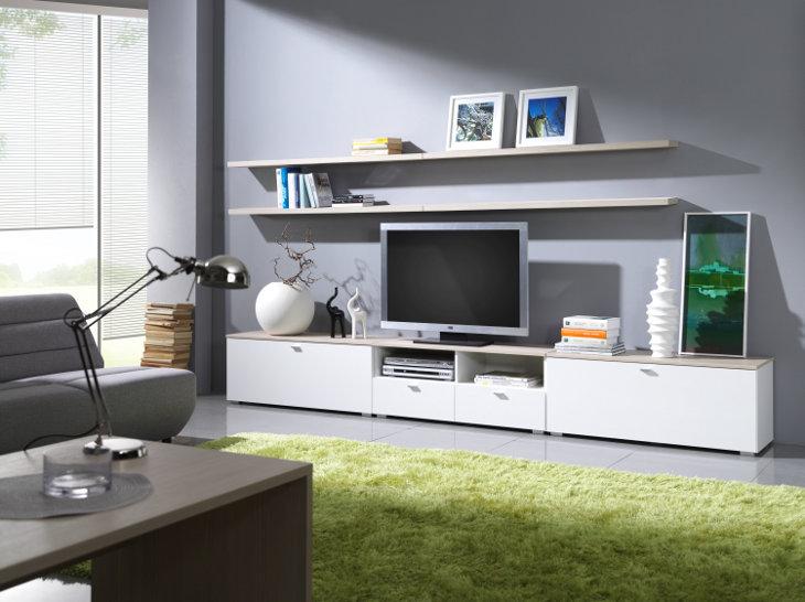 Moderná obývacia stena LIVING Zostava 2