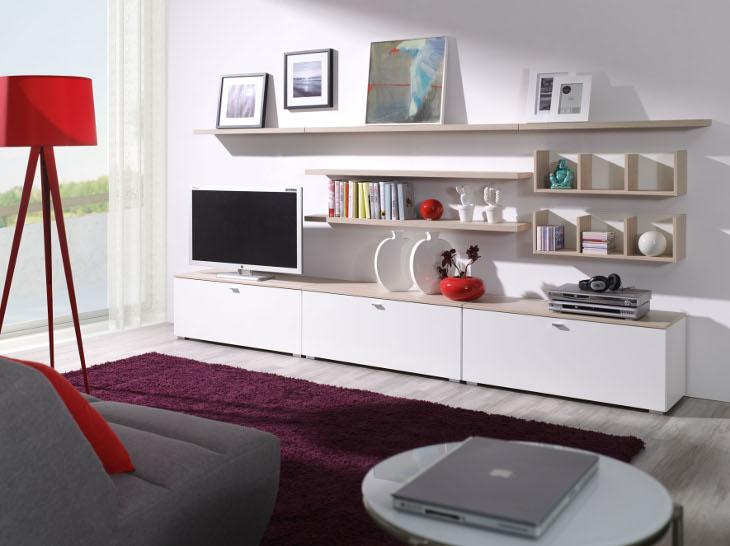 Štýlová obývacia stena LIVING Zostava 3