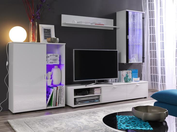 Moderná a lacná obývacia stena LOCO 1