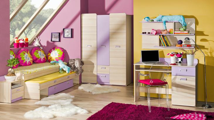 Trendy nábytok do detskej izby LORENTO 7