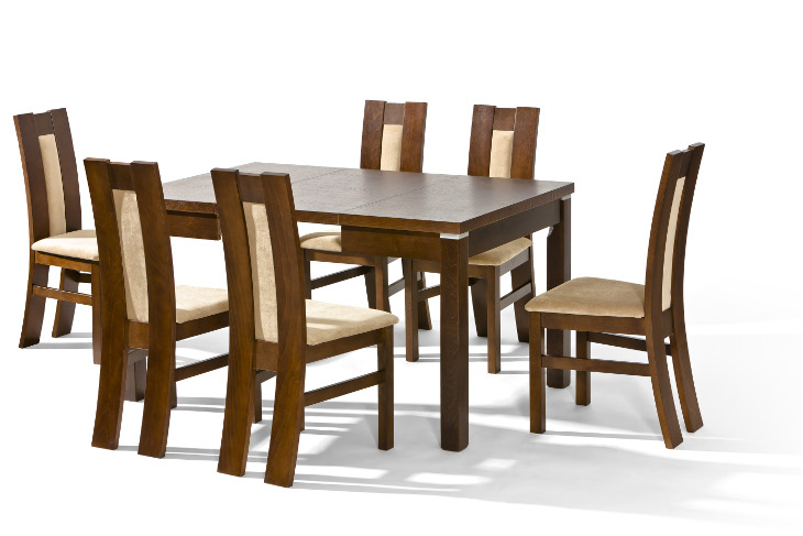 Stôl LOTOS + stoličky P-34 (1+6) - Súprava M6