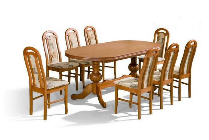 Stôl Wenus + stoličky P-1 (1+8) - Súprava M20 -viac farieb