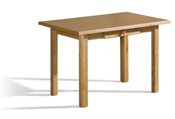 Stôl Max 3 P 70x120 so zásuvkou a laminovanou doskou