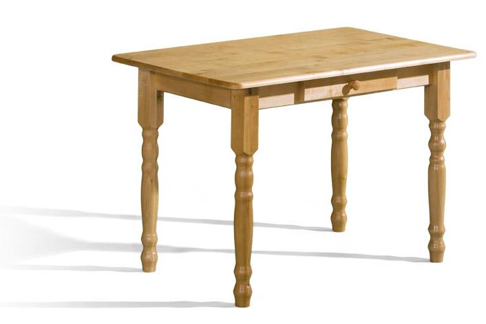 Stôl Max 3 70x120 so zásuvkou a laminovanou doskou