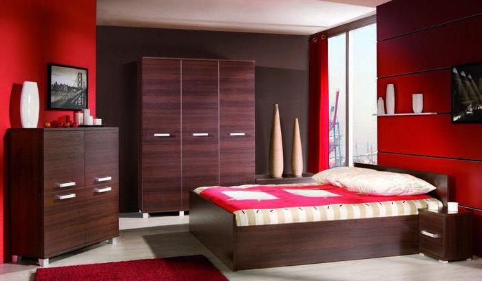 Moderná a lacná spálňa MAXIMUS zostava 11