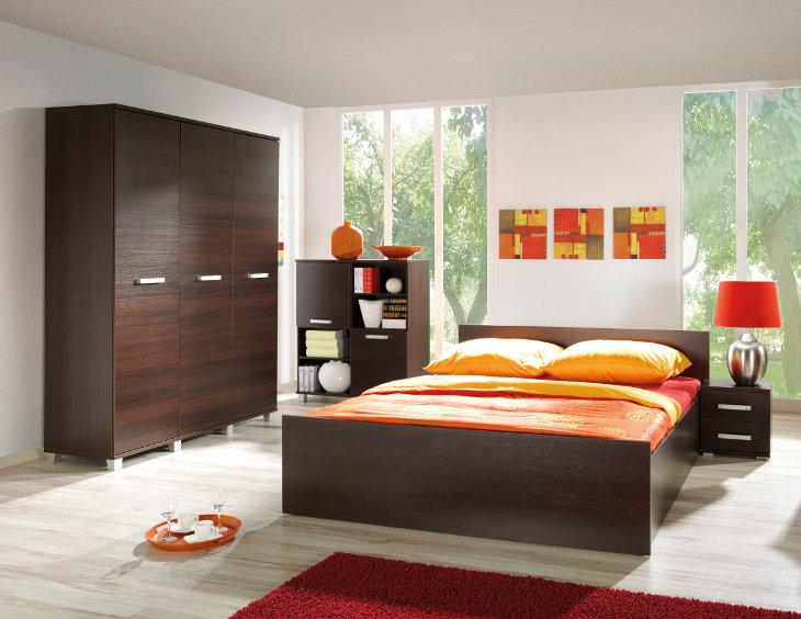 Lacná spálňa MAXIMUS zostava 13