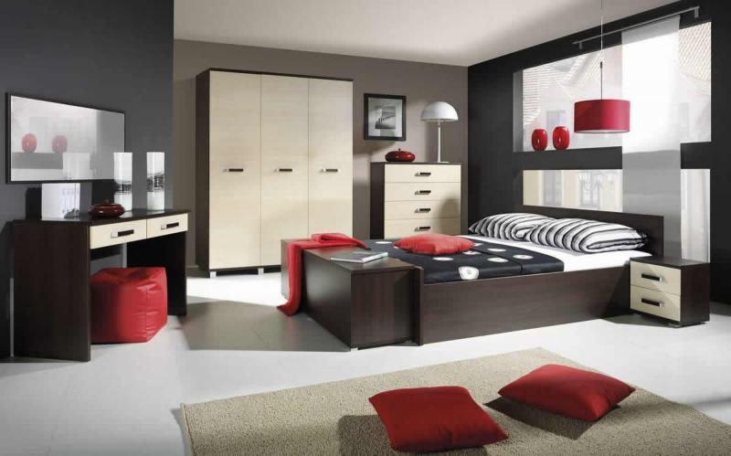 Moderná spálňa MAXIMUS zostava 17