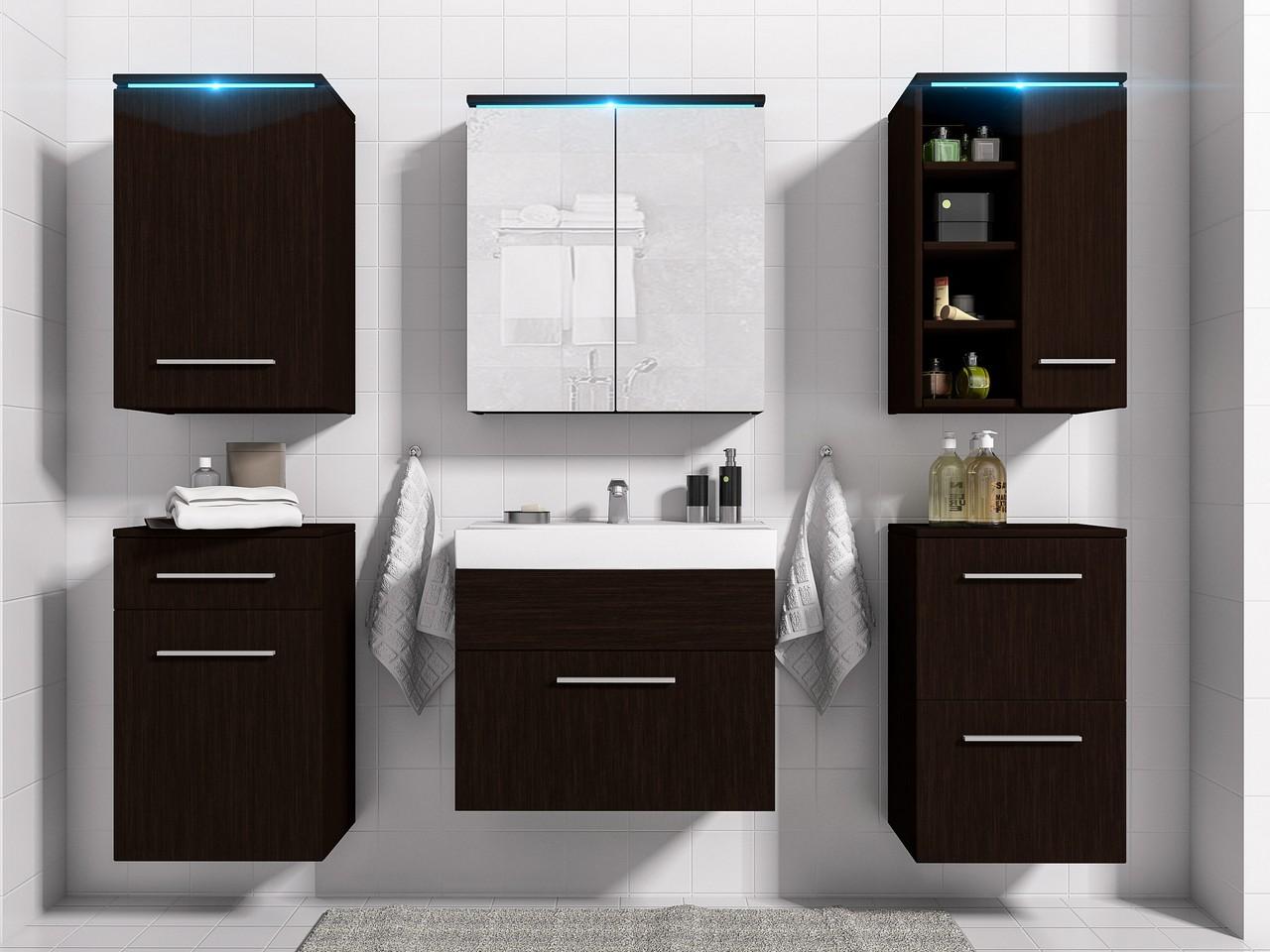 Moderná kúpeľňa MEGI 1 wenge