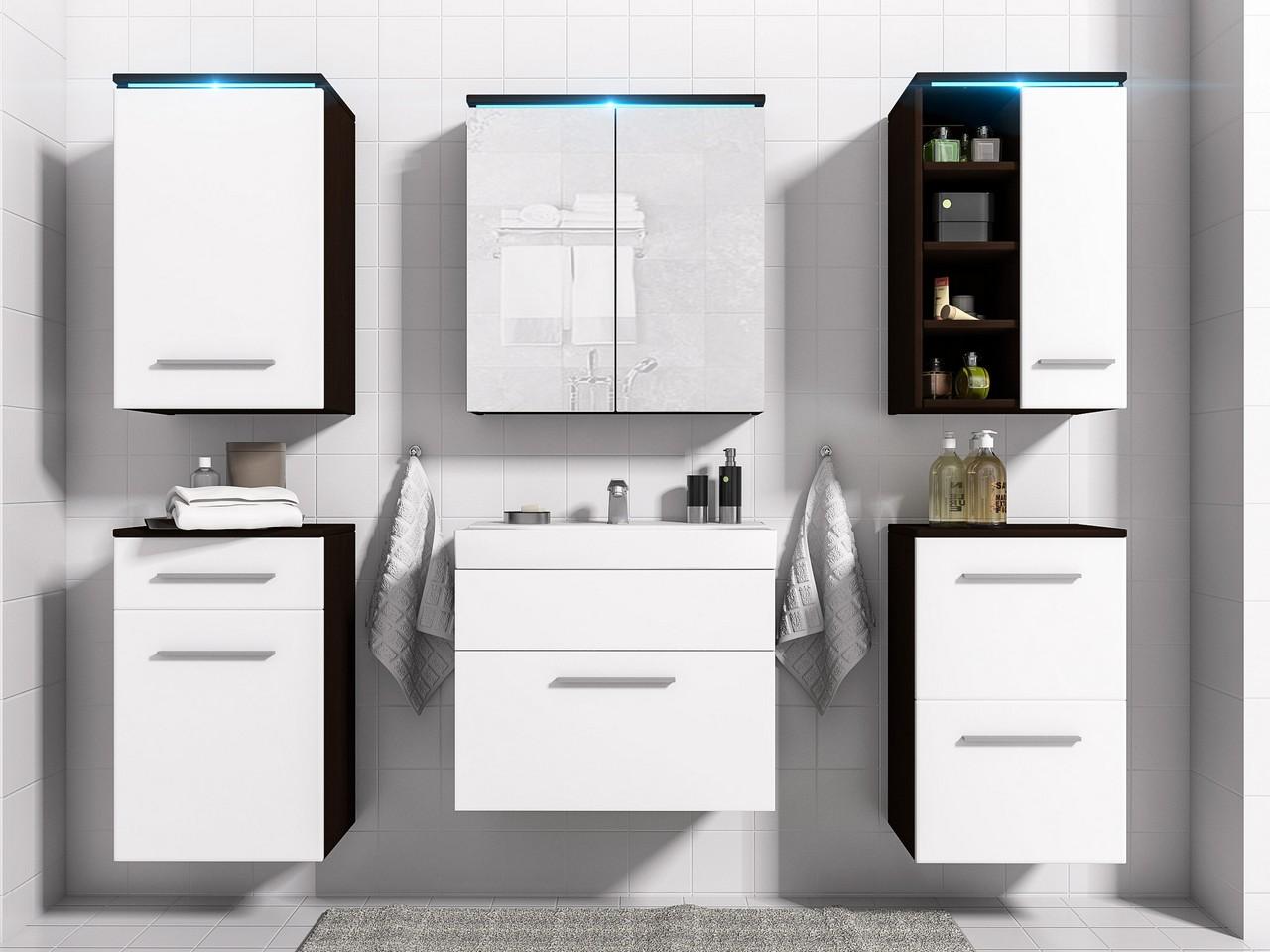 Lacná kúpeľňa MEGI 6 s LED osvetlením