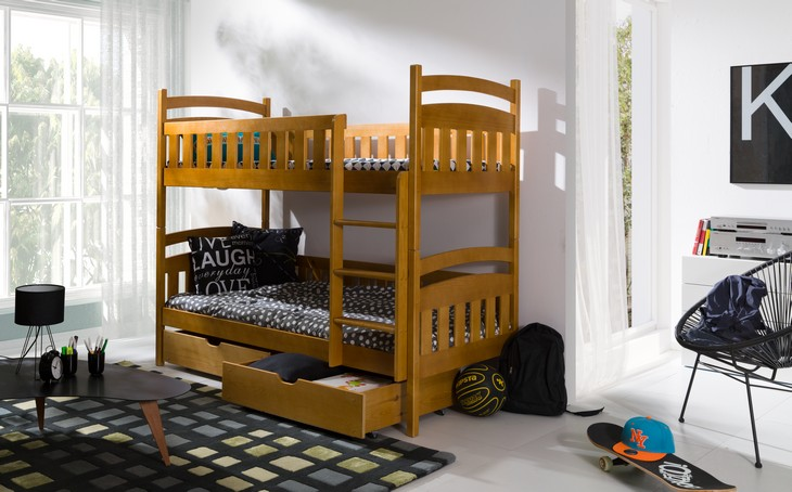 Poschodová posteľ GUMI 2
