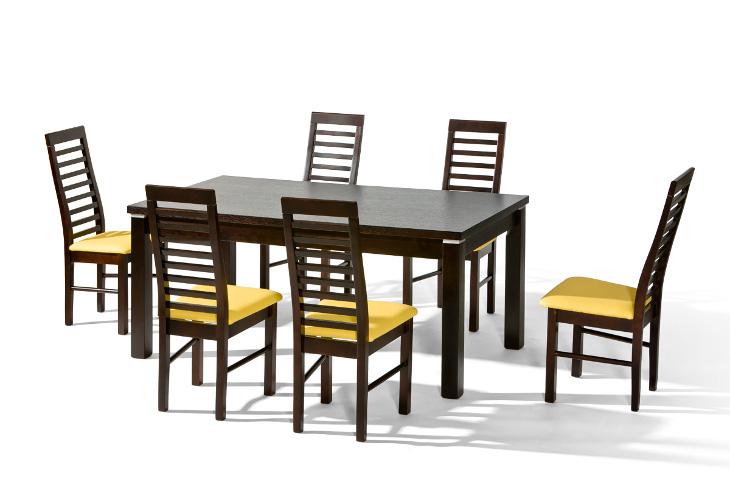Stôl NATAN + stoličky P-31 (1+6) - Súprava M2 - viac farieb