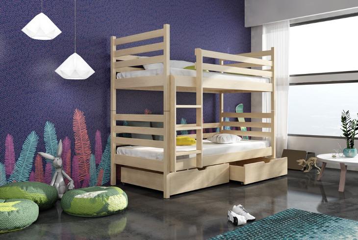 Poschodová posteľ GUMI 6