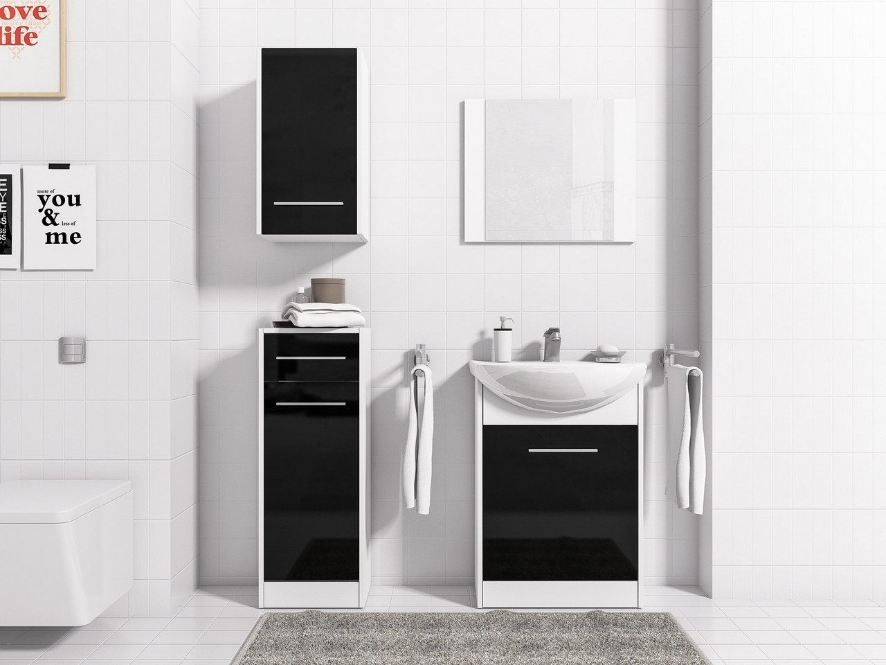 Kúpeľňový nábytok  NICO 7