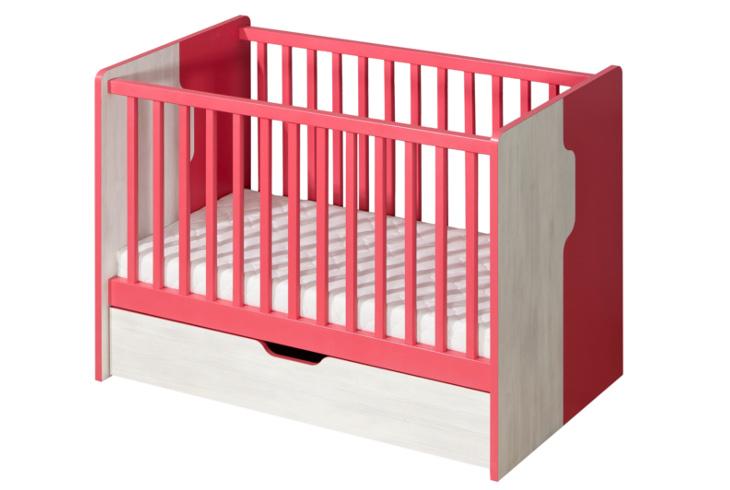 NU10 Detská posteľ s úložným priestorom NUKI